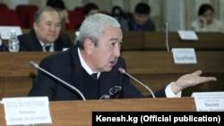Депутат Жогорку Кенеша Исхак Масалиев.