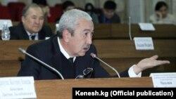 Депутат Исхак Масалиев.
