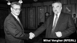 Întâlnire Petru Lucinschi - Igor Smirnov, ianuarie 1997