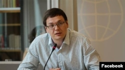 Human rights lawyer Pavel Chikov (file photo)