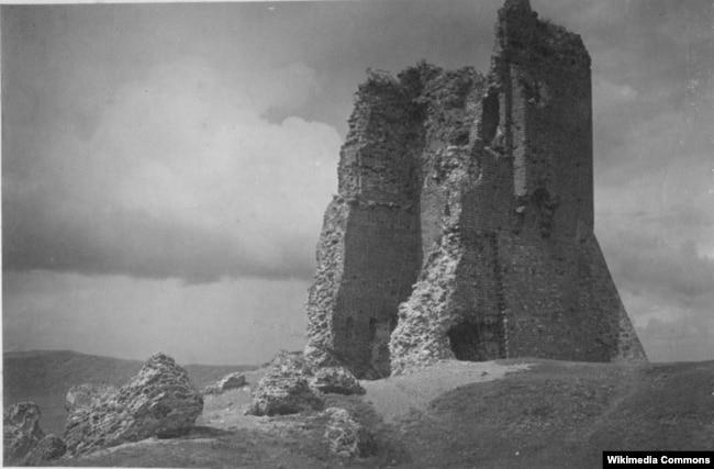 Ян Булгак. Наваградзкі замак (1930 год)