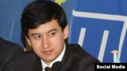 Daler Naqibov, Tajik foreign ministry's officer accused of bribery, photo from his page in Facebook