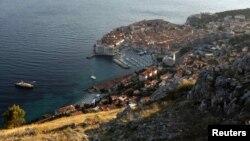 Pogled sa Srđa na Dubrovnik