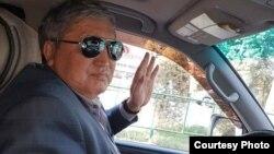 """Маркум Кайрат Загибаев. Сүрөт анын """"Фейсбуктагы"""" баракчасынан алынды."""