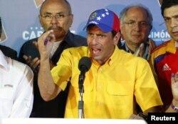 Энрике Каприлес отказывается признать результаты голосования