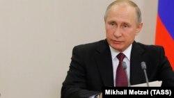 Ресей президенті Владимир Путин. Сочи. 21 қараша, 2017 жыл.