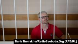 Вадим Мельник у суді в Черкасах, 30 травня 2017 року