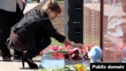 Мемориал у места катастрофы