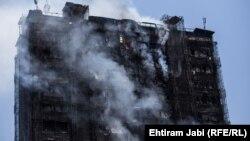 Ադրբեջան - Հրդեհը Բաքվի շենքում, 19-ը մայիսի, 2015թ․