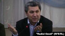 Мухиддин Кабири, лидер Партии исламского возрождения. Душанбе, 10 сентября 2013 года.