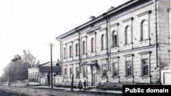 ОренбурДиния мәҗлесенең Уфадагы бинасы, мөфти Мөхәммәд-Сафа Баязитовның соңгы эш урыны