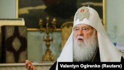 Патріарх Філарет під час бесіди з Reuters заявляв, що із задоволенням очолить незалежну українську церкву.