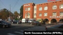 Гостиница в районе железнодорожного вокзала Владикавказа (архивное фото)