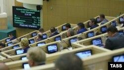 Заседание Совета Федерации (архивное фото)