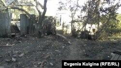 Наводнение уничтожило огород Ворониных