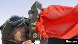 Ливийский повстанец, вблизи города Адждабия, 23 марта 2011