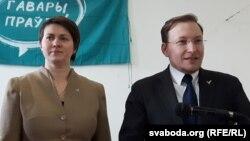 Тацяна Караткевіч і Андрэй Дзьмітрыеў