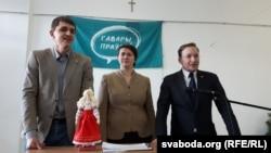 «Гавары праўду». Зьміцер Бандарчук, Тацяна Караткевіч і Андрэй Дзьмітрыеў