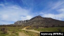 Крымские горы, архивное фото