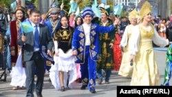 Казакъстан вәкилләре фестивальдә