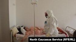 Коронавирусный госпиталь в Карачаево-Черкесии, май 2020 года