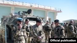 Աֆղանստան -- Հայկական զորախումբը խաղաղապահ առաքելություն է իրականացնում Կունդուզի օդանավակայանում, արխիվ