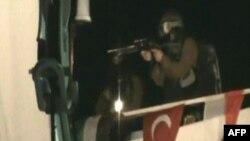 """Израильские коммандос на судне """"Mavi Marmara"""", 31 мая 2010"""