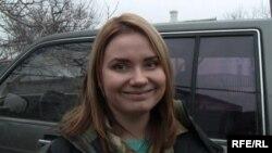 Vasilisa Trofimovici, ofițerul de presă al batalionului Dnepr-1