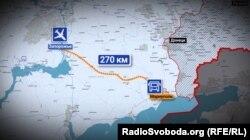 Від Запоріжжя до Маріуполя – 270 кілометрів через блокпости