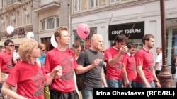 В Москве отметили день рождения Михаила Ходорковского