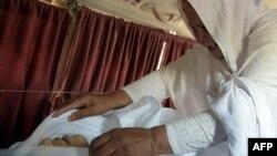 Qadın İslamabadda xəstəxanaya aparılsa da, həyatını xilas etmək mümkün olmayıb.