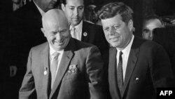 Američki predsjednik John Kennedy i sovjetski lider Nikita Hruščov