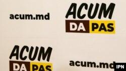 Moldova -- electoral bloc ACUM, logo