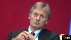 Kremlin spokesman Dmitry Peskov (file photo)