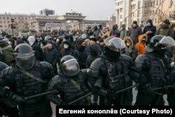 Акция 23 января в Улан-Удэ