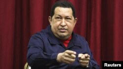 Венесуэла президенті Уго Чавес. Каракас, 11 сәуір 2012 жыл. Көрнекі сурет