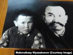 Ниязакун Акуналиев уулу Макмутказы менен.