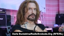 Російський актор і музикант Никита Джигурда на фестивалі «Співочі вечори» в Черкасах