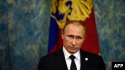 Ресей президенті Владимир Путин. Париж, 30 қараша 2015 жыл.