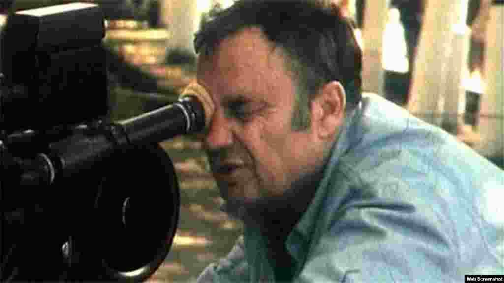 Эльдар Рязанов на съемках одного из своих фильмов