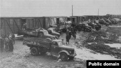 Совет өкіметінің 1944 жылы Кавказдан шешендер мен ингуштарды депортациялауы. Мұрағаттағы сурет