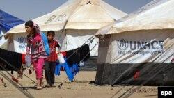 نازحون عراقيون من الموصل