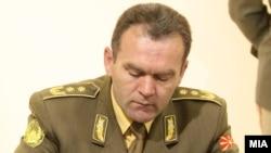 началникот на Генералштабот на АРМ генерал-потполковник Горанчо Котески