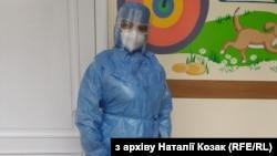 Наталія Козак, медсестра Львівської обласної інфекційної лікарні