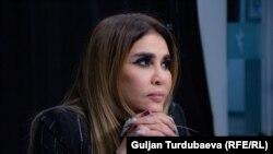 Узбекская певица Озода Нурсаидова.