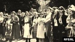 Гуканьне вясны, 1983 год.