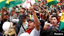 Protesti protiv Moralesa u La Pazu, ilustrativna fotografija