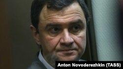 Григорий Пирумов в зале Дорогомиловского суда Москвы, 9 октября 2017 года