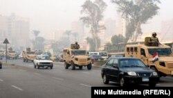 قوات مصرية في المدن