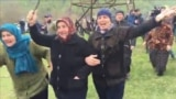 Georgia - Police clashed with locals protesting the construction of a hydropower plant in Georgia's northeastern Pankisi Gorge on April 21. screen grab protest protests environment